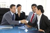 Global business partnership
