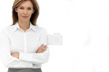 Portrait of an executive woman - Isolated