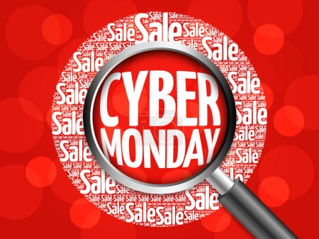 Cyber Monday word cloud
