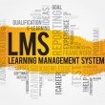 Learning Management System (LMS) word cloud busine...