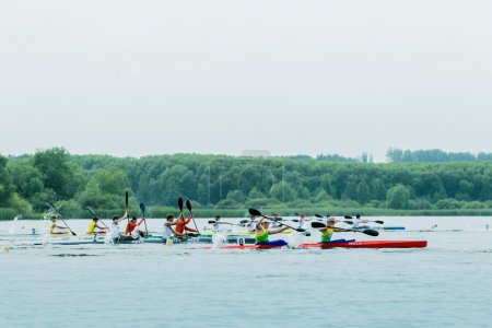 Competition kayaks