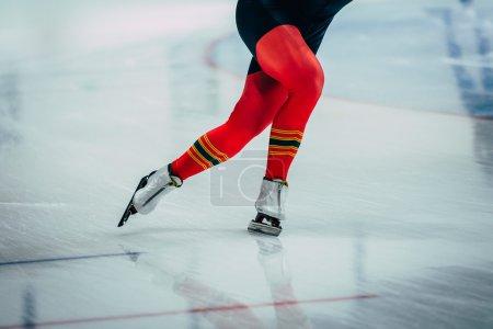 closeup feet women athletes skater