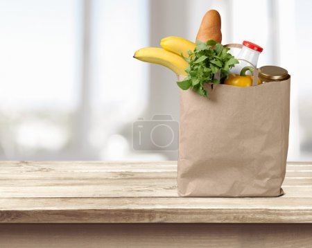 Full shopping  bag