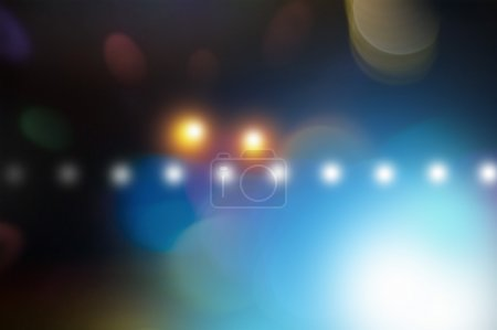 abstract dark bokeh lights background