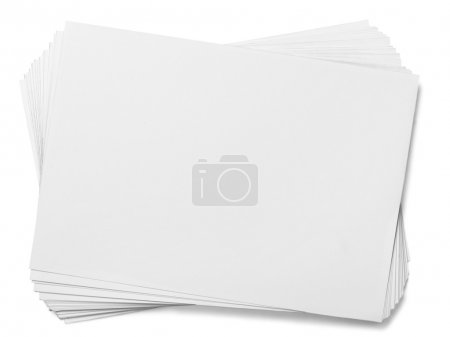 Heap of white papers