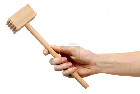 Cooking tool in hand