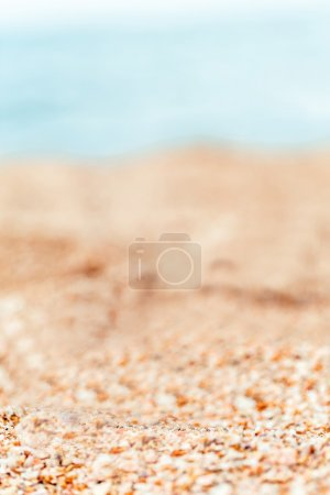 Photo for Blurred sea viev at day time - Royalty Free Image