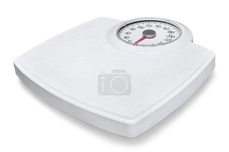 bathroom scale isolated