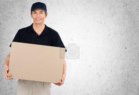 Man delivering box