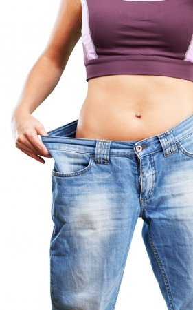 slim female body