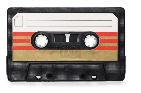 cassette tape isolated