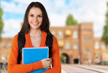 Young Female College Student