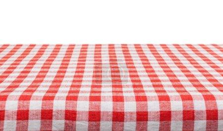 Tischdecke zum Servieren von Speisen