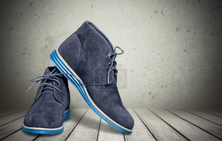 Male  suede desert boots