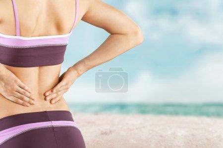 Slim  woman's body.