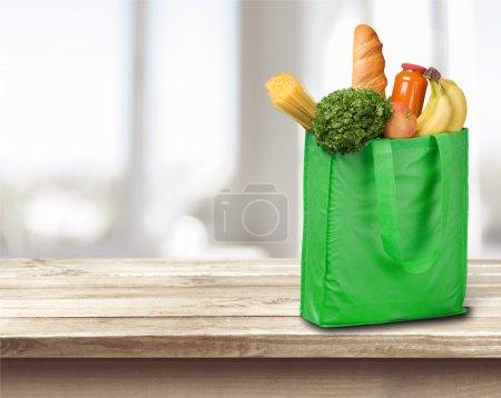 Full shopping  bag
