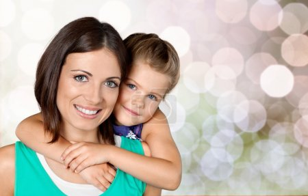 Photo for Happy Mother and daughter hugging - Royalty Free Image