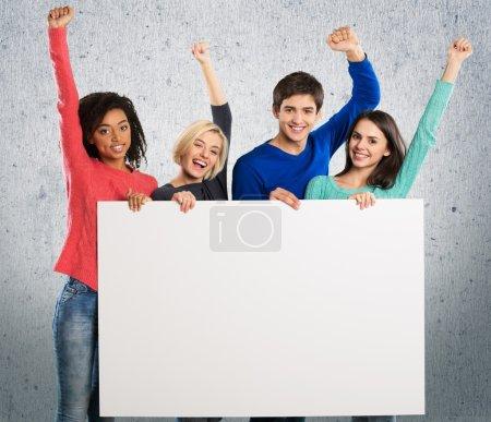 Volunteer, Group Of People, Marketing.