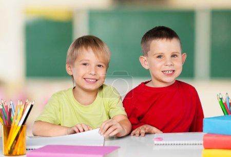 School, kid, student.