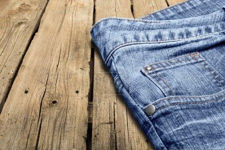 Photo pour Jeans, poche, Denim. - image libre de droit