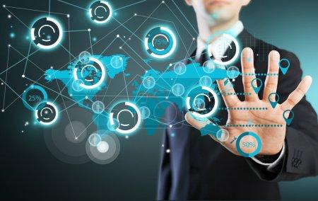 Photo pour Information, concept, technologie . - image libre de droit