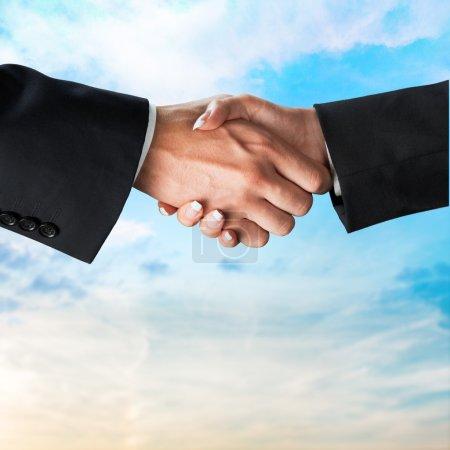 Handshake, Trust, Partnership.