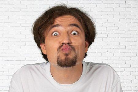 Facial Expression, Human Face, Men.