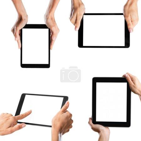 Human Hand, Telephone, Mobile Phone.