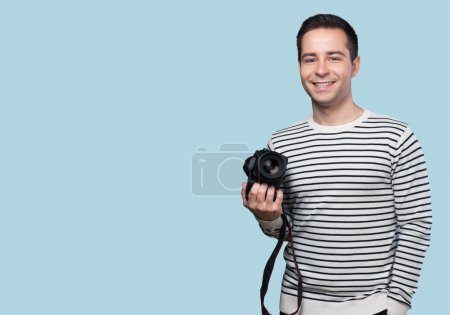 Photographer, studio, slr camera.