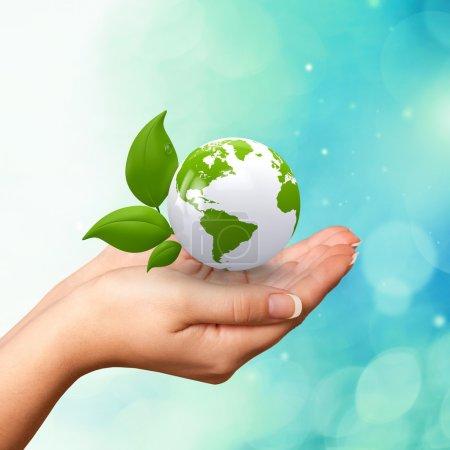 Earth, Green, Globe.