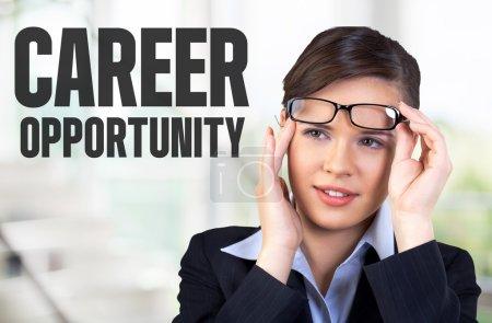 Career opportunity, Time, Glasses.