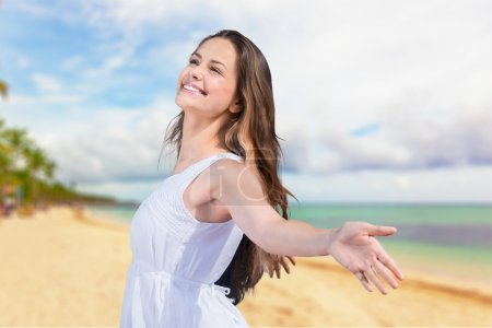 Photo for Free, arms, beach. - Royalty Free Image
