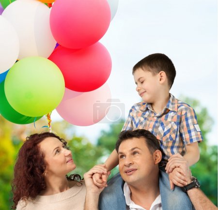 Photo for Family, Cheerful, Happiness. - Royalty Free Image