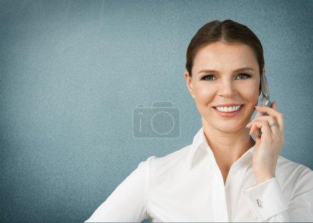 Women, Telephone, Mobile Phone.