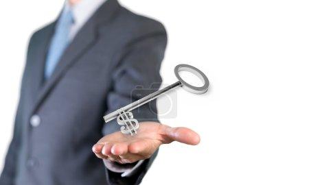 Key, Finance, Wealth.