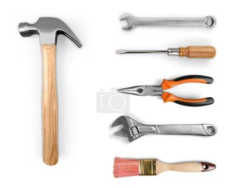 Work, handyman, glue.