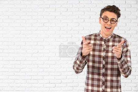 Nerd, Glasses, Teenager.