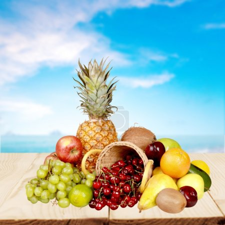 Photo for Fruit, Freshness, Healthy Eating. - Royalty Free Image