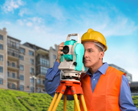 Surveyor, Construction, Architect.