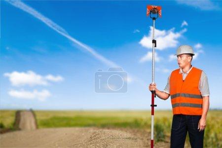 Surveyor, Engineer, Measuring.