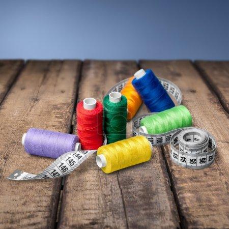 Sewing, Thread, Spool.