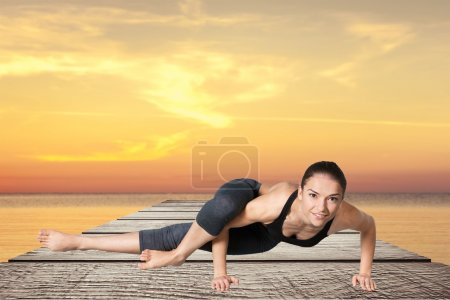 Yoga, pose, asana.