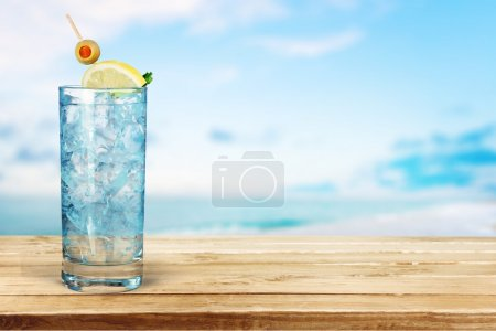 Photo for Cocktail, Gin, Tonic Water. - Royalty Free Image