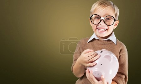 Child, Currency, Savings.