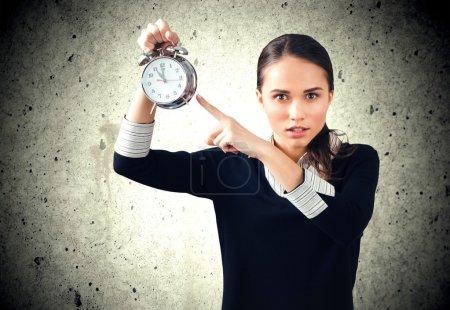 Photo pour Heure, Horloge, Urgence . - image libre de droit