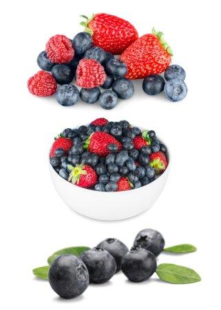 Berry Fruit, Fruit, Isolated.