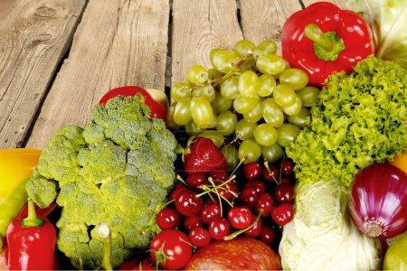 Photo for Vegetable, Fruit, Healthy Eating. - Royalty Free Image