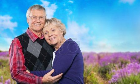 Photo for Senior Adult, Couple, Family. - Royalty Free Image