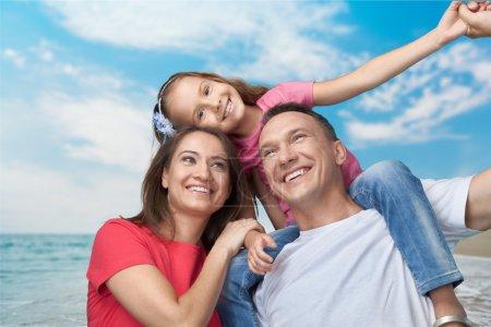 Foto de Familia, felicidad, alegre. - Imagen libre de derechos