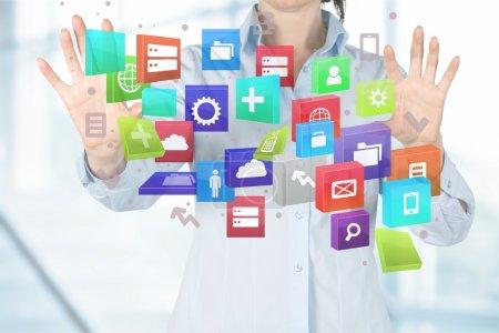 Finance, Service, Digitally Generated Image.